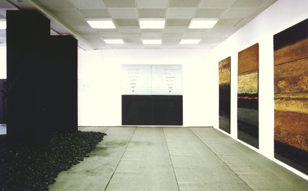 Installation RaumZeit Kunstverein SOB